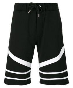 Les Hommes | Contrast Track Shorts Size Medium
