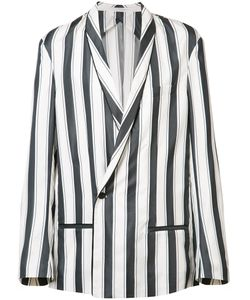 Haider Ackermann | Shawl Lapel Boxy Blazer 48 Rayon/Cotton/Acetate/Silk