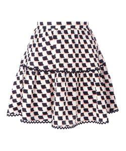 Kenzo | Post-It Mini Skirt 36 Silk