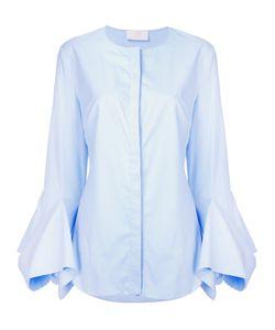 Sara Battaglia   Flared Sleeves Shirt Size 50
