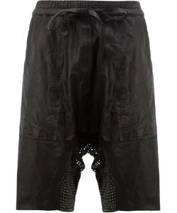 Isaac Sellam Experience | Drawstring Shorts Large Calf Leather