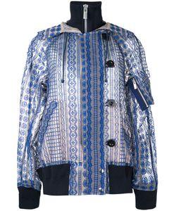 Sacai | Прозрачная Куртка С Капюшоном И Вышивкой