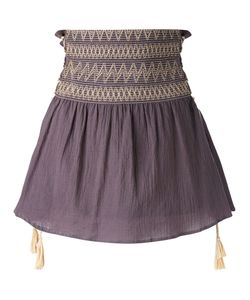HARARE | High-Rise Gathered Skirt