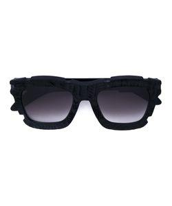 KUBORAUM   Handcraft Technique Square Sunglasses