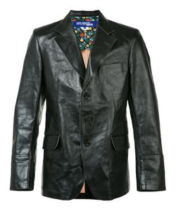 JUNYA WATANABE COMME DES GARCONS | Junya Watanabe Comme Des Garçons Man Flap Pockets Leather Blazer