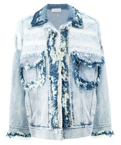 Faith Connexion | Frayed Denim Jacket