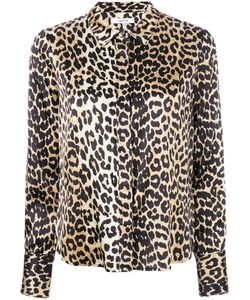 Ganni | Leopard Print Shirt