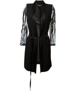 Ann Demeulemeester | Летнее Декорированное Пальто