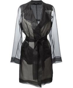 Maison Margiela | Прозрачное Пальто-Тренч