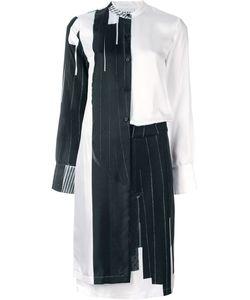 DKNY | Многослойное Платье С Контрастным Принтом