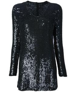 BEAU SOUCI | Платье С Длинными Рукавами И Пайетками