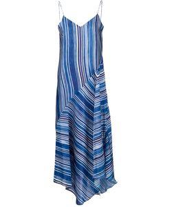 Tess Giberson | Полосатое Платье На Тонких Лямках