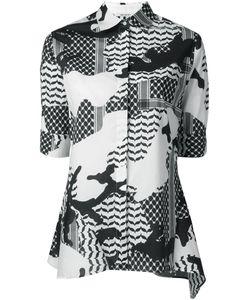 Neil Barrett | Рубашка С Камуфляжным Принтом
