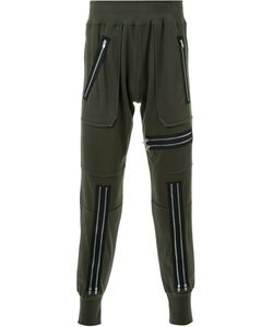99 IS   Zipper Detail Track Pants