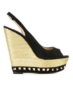 GIANNI RENZI | Studded Wedged Sandals