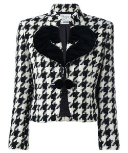 MOSCHINO VINTAGE | Houndstooth Jacket Size Small