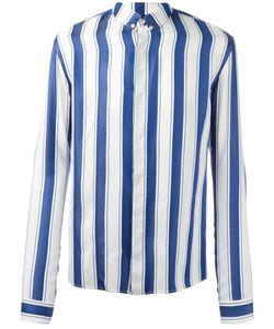 Haider Ackermann | Striped Polo Shirt Small Silk