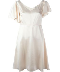 Saint Laurent | Flared Slit Detail Dress