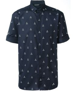 Neil Barrett | Рубашка С Короткими Рукавами И Принтом