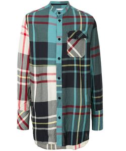 J.W. Anderson | Long Checked Shirt Men 48