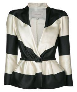 Carolina Herrera | Striped Jacquard Jacket