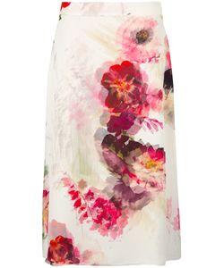 Lanvin | Chiffon A-Line Skirt 36 Silk