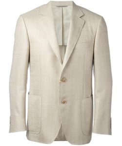 Canali | Patch Pockets Jacket 56 Silk/Linen/Flax/Wool/Cupro