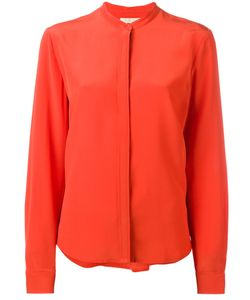 Vanessa Bruno | Collarless Shirt 38 Silk