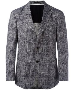 Z Zegna | Patterned Blazer 58 Cotton/Silk/Polyester/Cupro