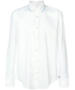 Hugo | Рубашка С Закругленным Подолом Boss Boss