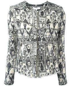 Iro | Geometric Embroidery Jacket 36 Cotton/Acrylic/Other Fibers