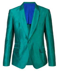 Haider Ackermann | Single Button Blazer Small Cotton/Rayon/Linen/Flax/Spandex/Elastane