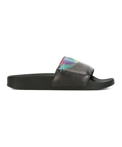 MARCELO BURLON COUNTY OF MILAN | Wing Print Sliders Size 36
