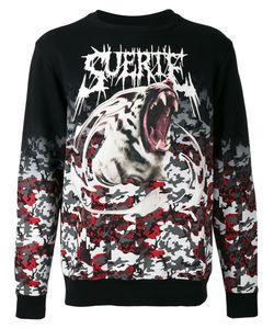 MARCELO BURLON COUNTY OF MILAN   Printed Sweatshirt Size Large