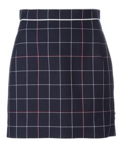 Thom Browne | Check Overlay Skirt Size 42