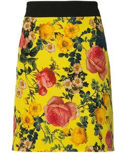 Fausto Puglisi | Print Mini Skirt 44 Silk/Viscose/Spandex/Elastane