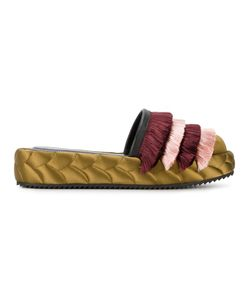 Marco De Vincenzo | Quilted Tassel Slippers
