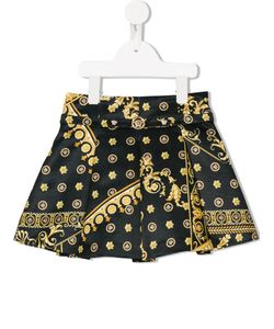 Young Versace | Cornici Print Skirt 8 Yrs