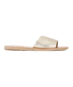 ANCIENT GREEK SANDALS | Taygete Flip Flops 36 Leather/Rubber