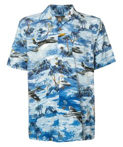 RRL | Landscape Print Shortsleeved Shirt