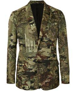 Givenchy | Camouflage Print Blazer 48