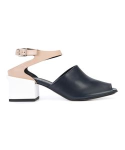 Jil Sander | Colour Block Sandals 36 Leather/Rubber