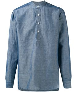 Barba | Mandarin Neck Shirt 38