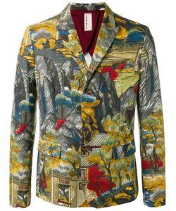 Antonio Marras | Landscape Allover Print Blazer 48 Cotton