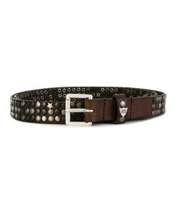 HTC Hollywood Trading Company | Studded Buckle Belt Unisex