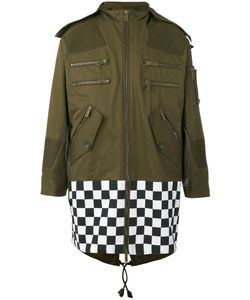 Dsquared2 | Oversized Checkboard Military Jacket