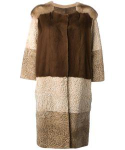 Liska | Пальто С Панельным Дизайном