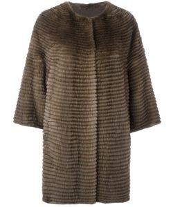 Liska | Свободное Меховое Пальто