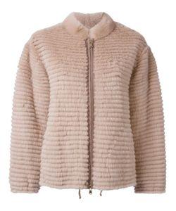 Liska   Меховая Куртка На Молнии