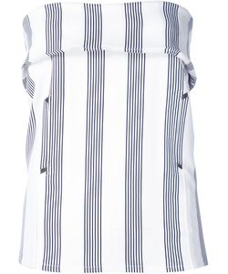 Shades Of Grey By Micah Cohen | Striped Strapless Top